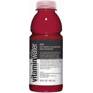 vitamin water xxx blueberry pomegranate select drink inc